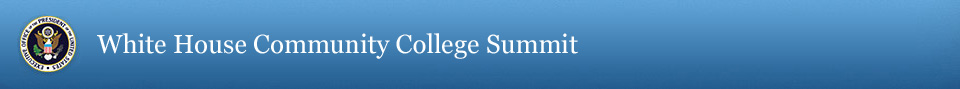White House Community College Summit